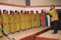 Ladies' section - Margaret's Bi-tonic Choir