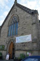 Buxton church concert outside