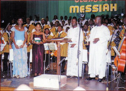 Ghana songs and concert
